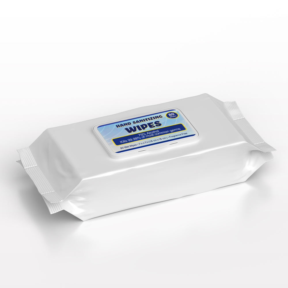 Sunscope® Premium Hand Sanitizing Wipes