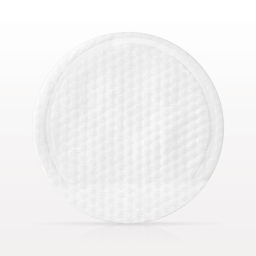 Round Textured Cleansing Pad with Pocket