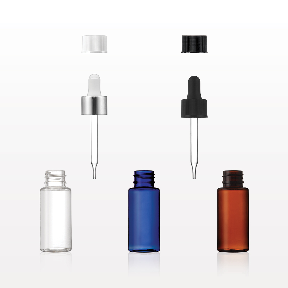 PET Dropper Bottle Collection