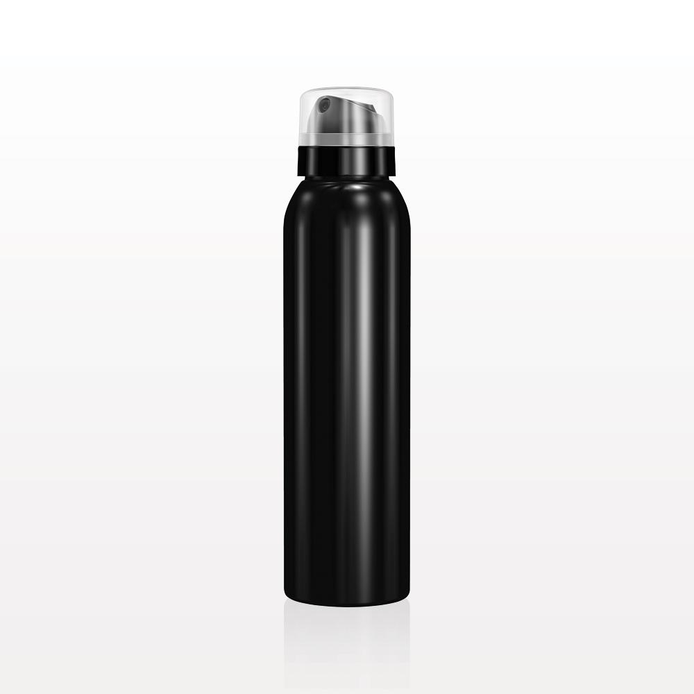 Non-Aerosol Continuous Fine Mist Spray Bottle, Black